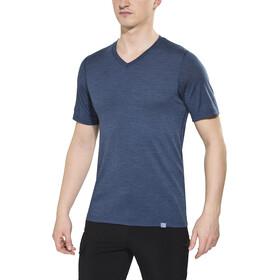 Bergans Bloom T-shirt en laine Homme, navy melange